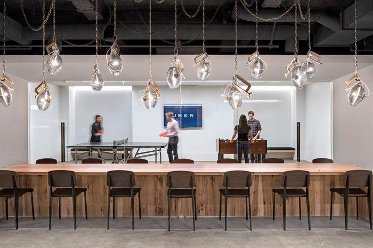 Las oficinas de Uber, por dentro: la 'cocina comunitaria' es un buen indicador de la actitud de una compañía hacia sus empleados. Foto: Jasper Sanidad