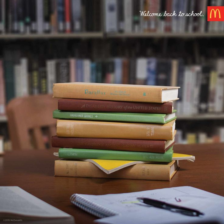 Campagne de Rentrée Mc Donald's. #pub #print