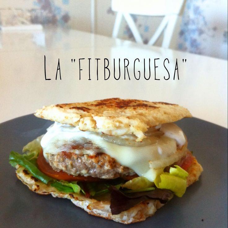 1000 Fit Meals: Hamburguesa Ligera con Pan sin Harina