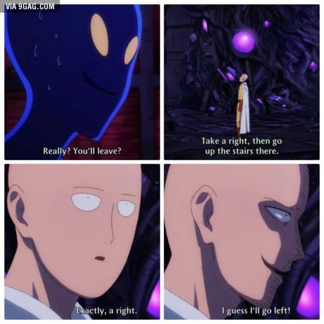 Funniest scene of episode 11 (One Punch Man)