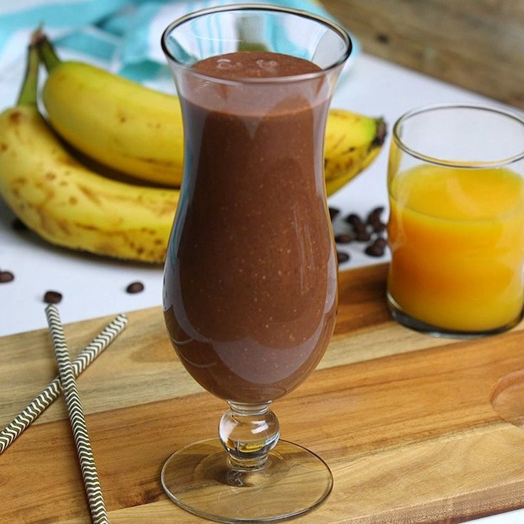 Why choose between coffees and smoothies when you can have a coffee smoothie!