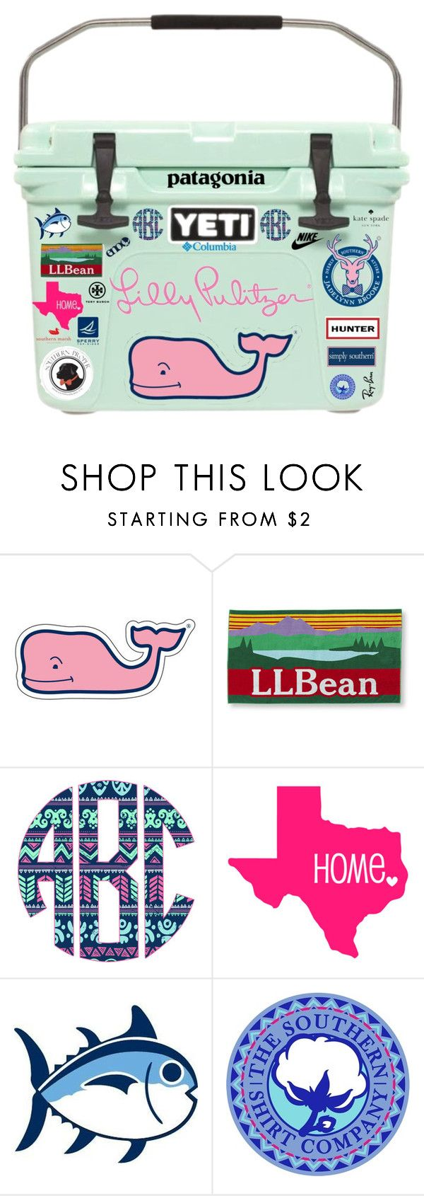 """""""Yeti Cooler!!!"""" by evieleet ❤ liked on Polyvore featuring Vineyard Vines, L.L.Bean, Southern Proper, Southern Tide, Patagonia, Hunter, Kate Spade, Sperry Top-Sider, Ray-Ban and Columbia Sportswear"""