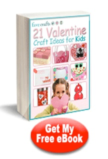 Check out these 21 Valentine's Day craft ideas for kids. So cute!