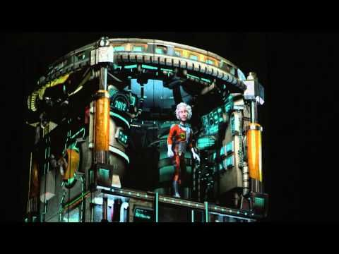 """CGI 3D Video Mapping DEMO HD: """"Mocap Mapping"""" by - NuFormer - YouTube"""