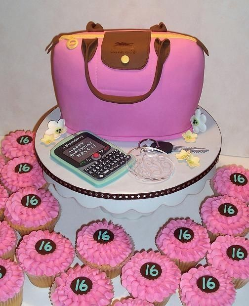 16th Birthday Cakes For Girls Of The Birthday Girl S