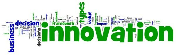 Types of Innovation Word cloud created by wordle.net.