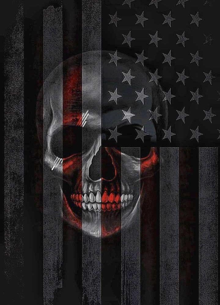 American Flag Skull Wallpaper : american, skull, wallpaper, Annie, Haddlesey, SKULL, FORREST, Skull, Wallpaper,, American, Wallpaper