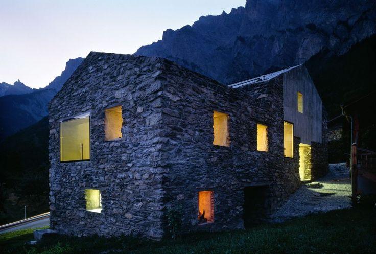 Renovation in Chamoson by Savioz Fabrizzi Architecte   HomeDSGN