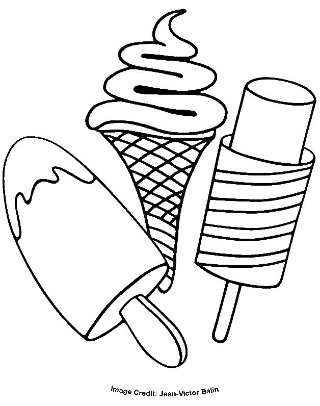 ice cream coloring pages coloring pages for kids kids coloring food