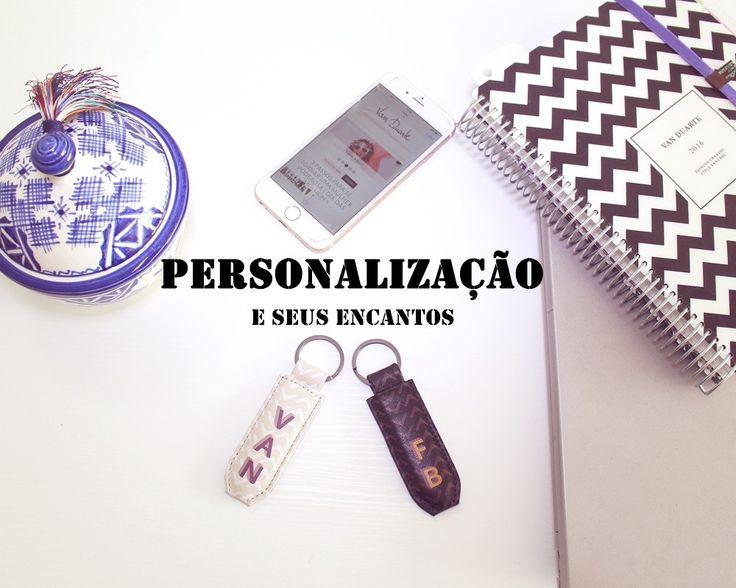Arquivo para chaveiro de couro personalizado - Van Duarte