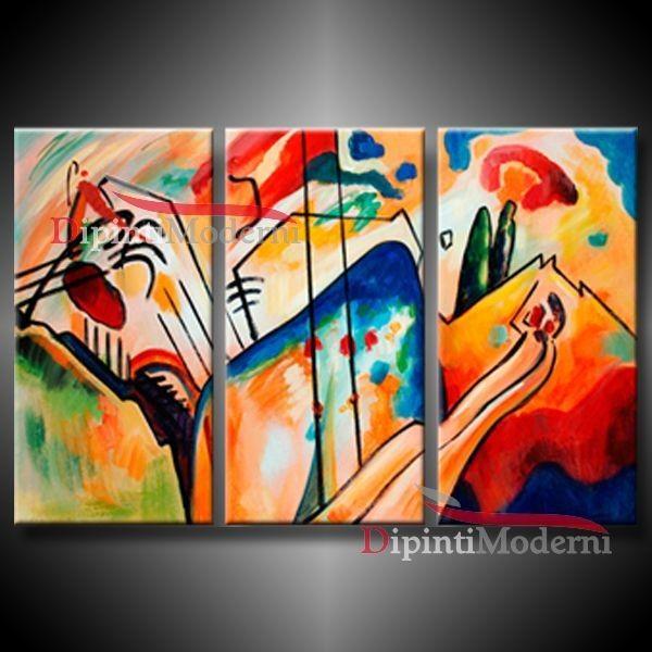 Dipinti Astratti Famosi Kandinsky