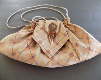 Paisley Vintage Necktie Purse