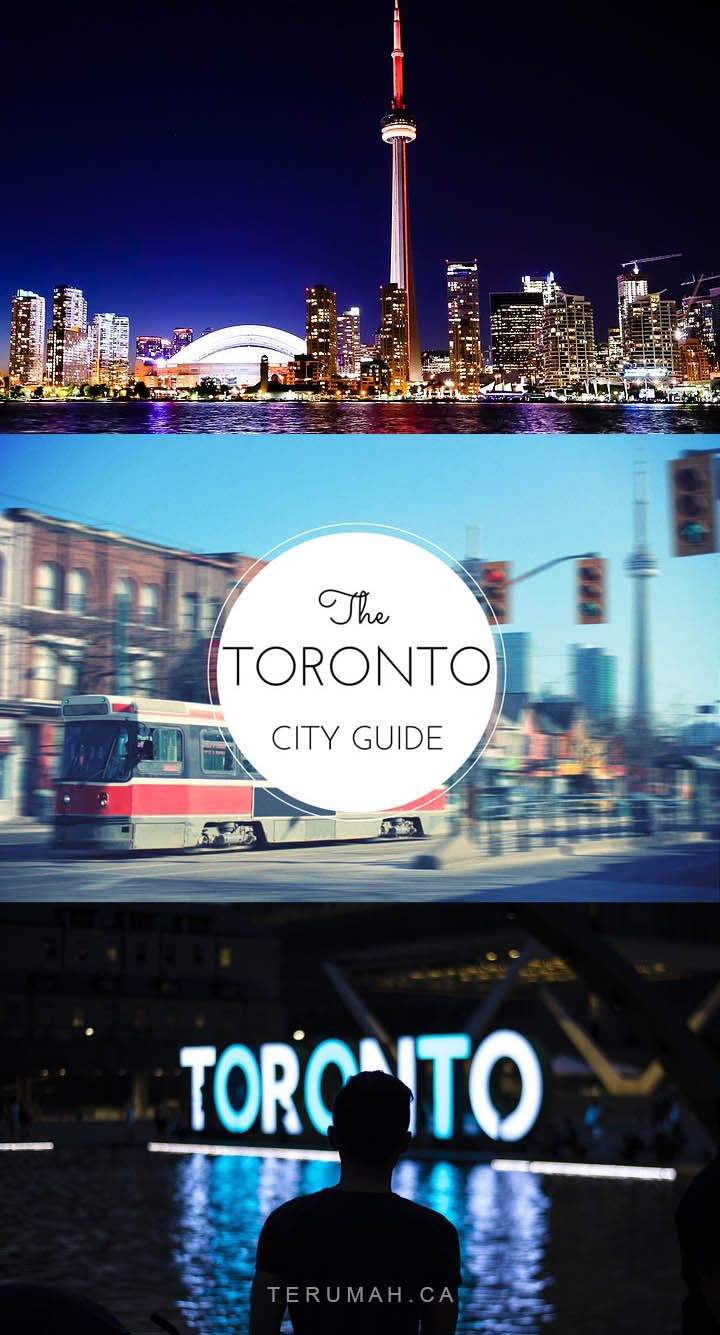 The Ultimate Toronto City Guide, complete with a handy Google map to make finding places easier.