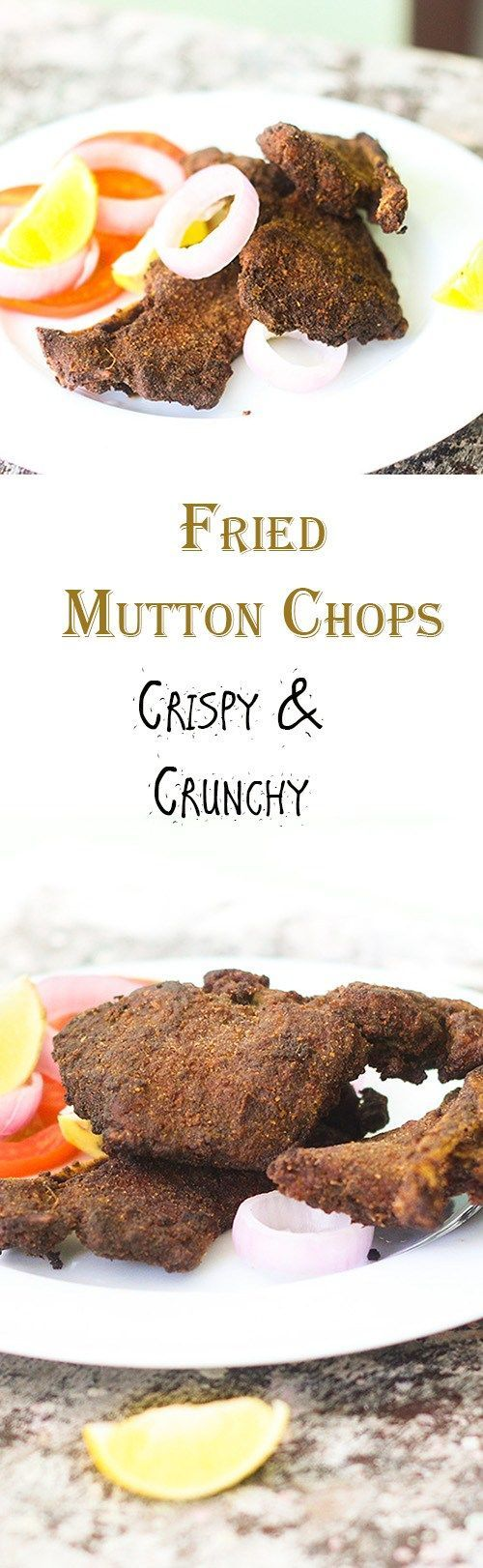 Fried Mutton Chops or the spicy mutton chops fry recipe is a great starter recipe. You can even serve this as a side dish to any meal.