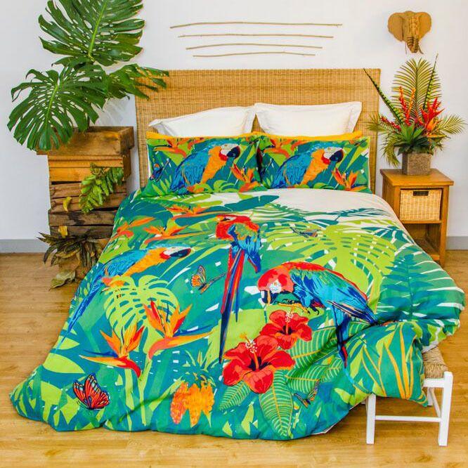 Tropica - Retro Home - Quilt Cover Set - Love Mum