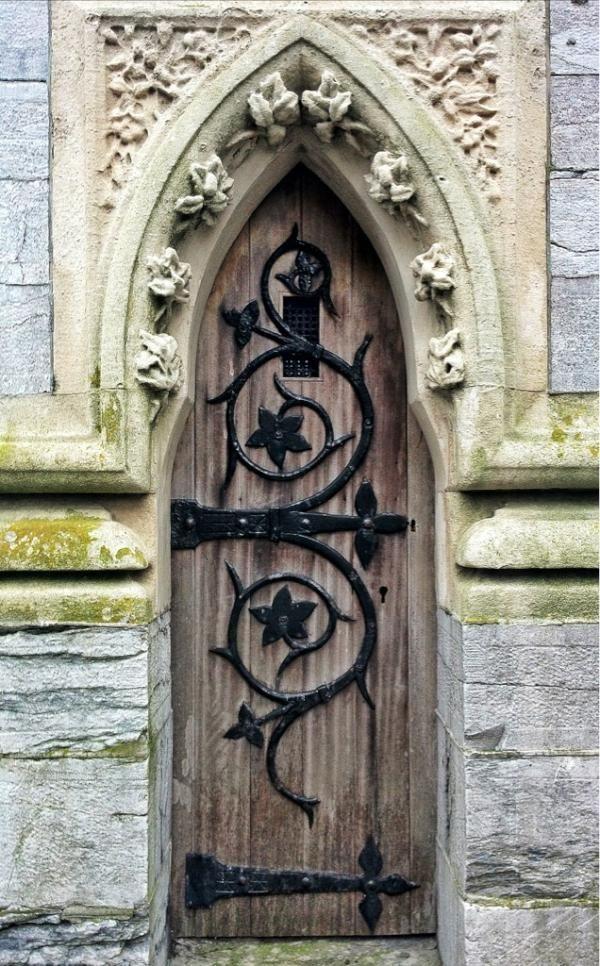 Derry's Clock, PlymouthDoors, Green Collection, Flower Design, Entrance Doorway, Ironwork, Beautiful Doorway, Iron Work, Derry Clocks, Architecture Frames Windows