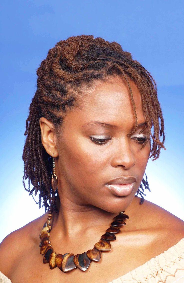 short sisterlocks hairstyles