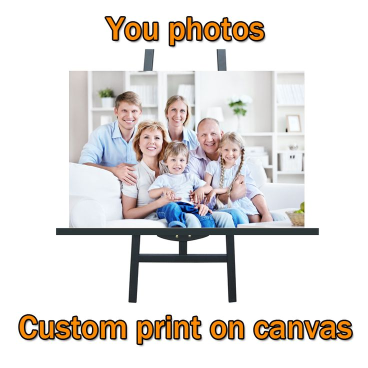 Artcozy Waterproof Printing Photo Spray Painting Custom Canvas Print On Canvas Printing Wall Pictures Home Decoration No Frame