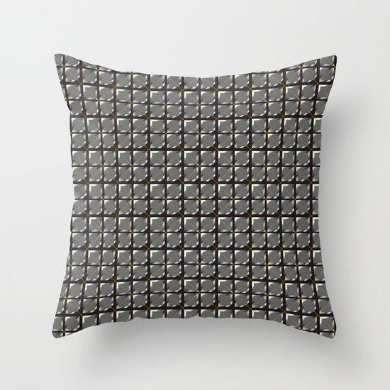 Iron Wall Throw Pillow