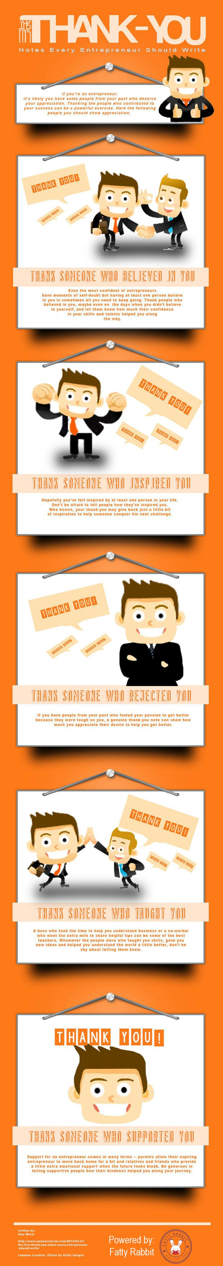The Five Thank You notes every entrepreneur should write  #medium #business #strategy