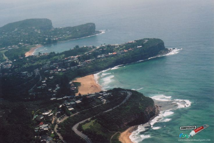 "Sydney's Northern Beaches.  ""The Truth about Flying"": http://www.confiscatedtoothpaste.com/the-truth-about-flying/"