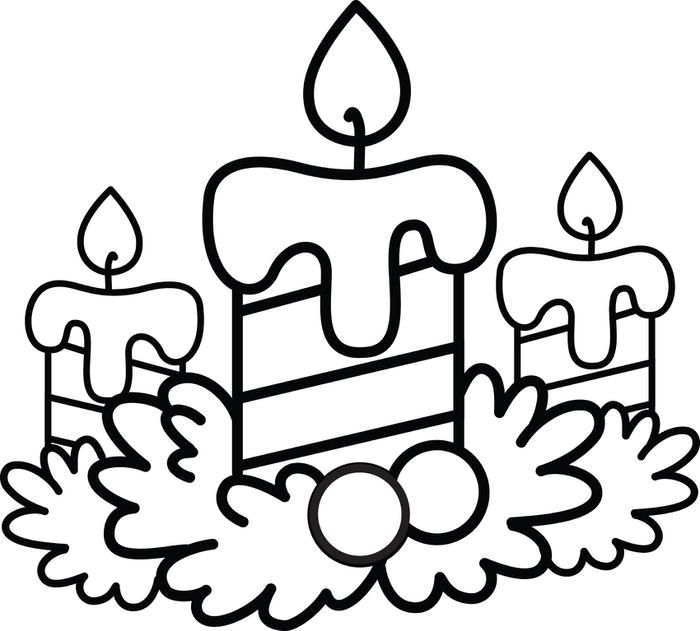 85 best Coloring: Candles & Other Illumination images on Pinterest ...