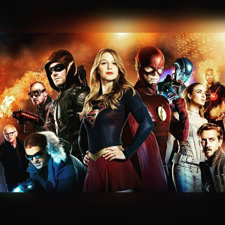 As quatro séries de super heróis da DC se unirão em um crossover fantástico! Saiba mais!!!