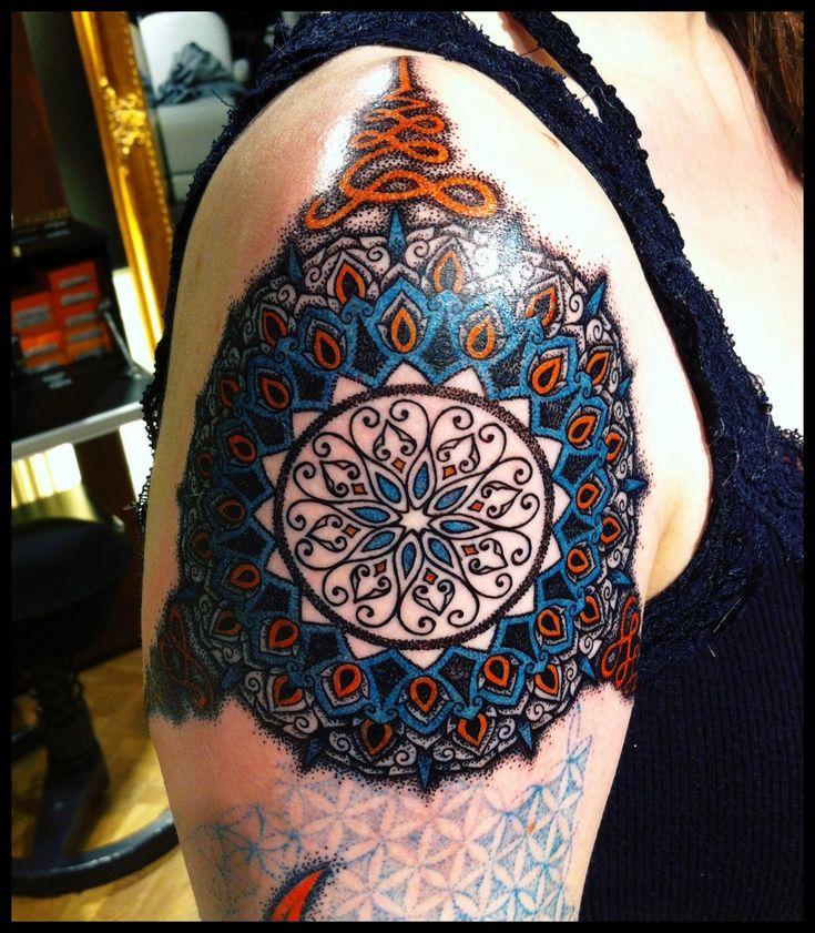Colorfull mandala by *Meatshop-Tattoo on deviantART