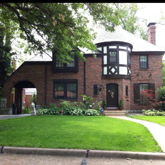Impressive Detached Garage Plans Trend Other Metro: Impressive Tudor Style Home In Pasadena Hills, MO. Built
