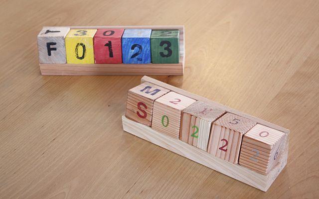 無印良品 有楽町 森のころころカレンダー作り | 無印良品