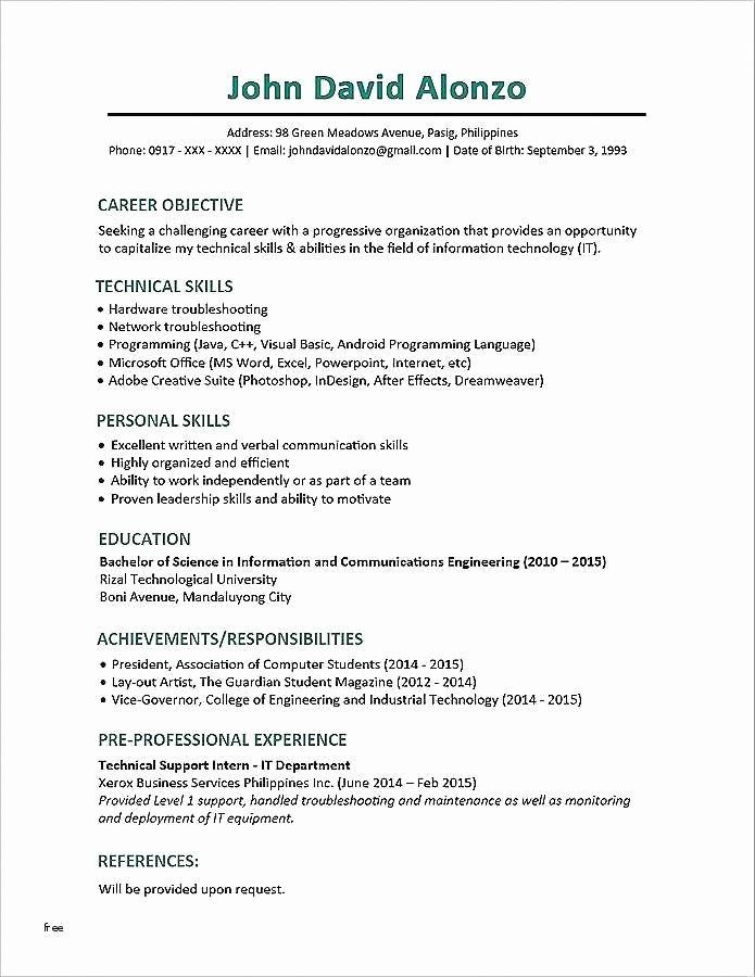 The Combination Resume Template Format And Examples Resume Template Word Resume Template Best Resume Format
