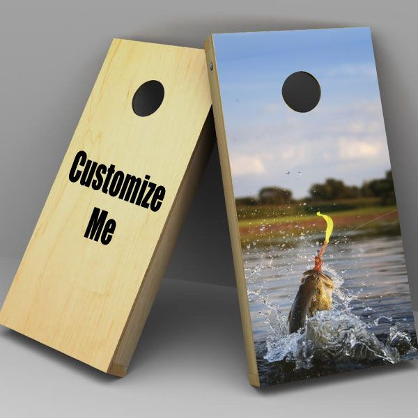 Custom Cornhole wrap sticker - choose from almost any image