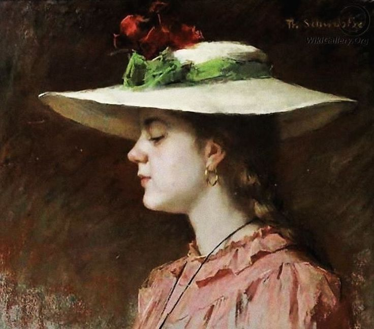 Thérèse Schwartze (Dutch painter) 1851 - 1918 Lizzy Ansingh as a Young Girl, s.d.