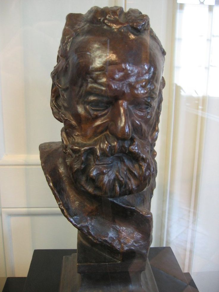 Victor Hugo - by Auguste Rodin