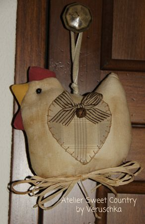 Atelier Sweet Country this would be cute a little larger and on an oval wreath for me to do