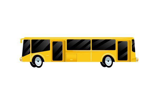 Bus Vector #busvector #vectorpack http://www.vectorvice.com/cars-vector