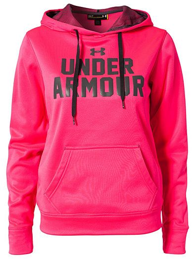 Battle Holiday Hoody - Under Armour - Pink - Jumpers  Cardigans - Sports Fashion - Women - Nelly.com Uk