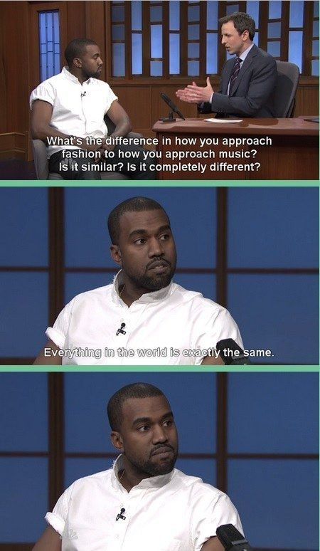 Oh, Kanye | 21 Times You And Kanye West Had Absolutely Nothing In Common