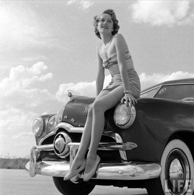 1950s Life Magazine Photo #vintage #1950s #pinup #photo