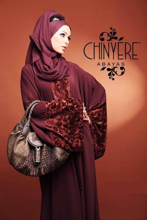 Love the embroidery details on the sleeves and the hairstyle. Chinyere by Bareeze, Pakistan. 2012.