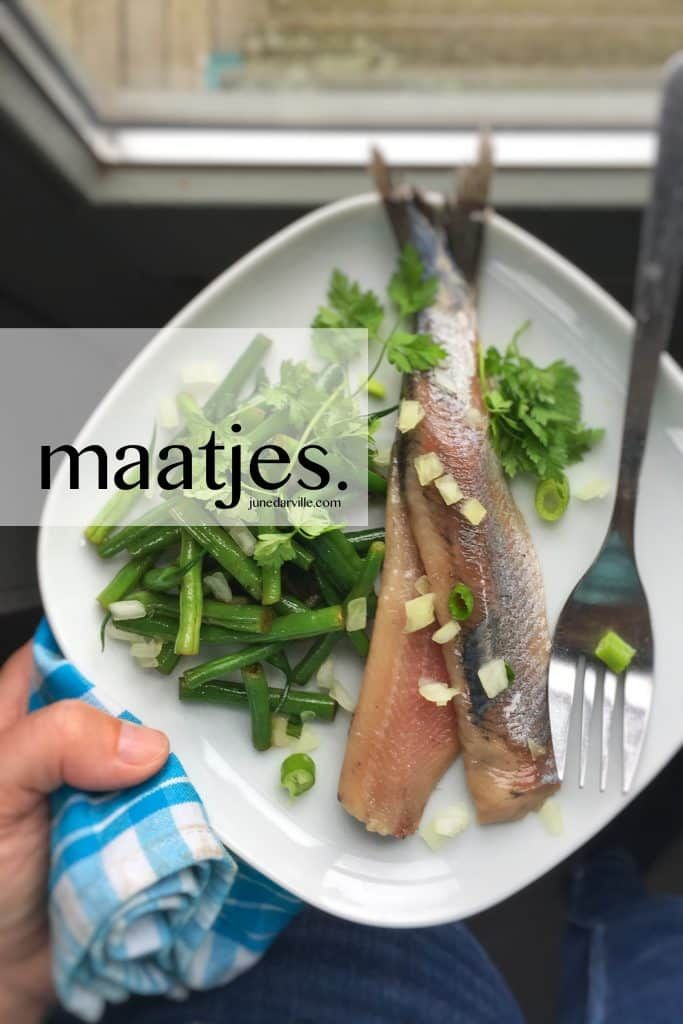What are maatjes, Dutch new herring or matjes herring?