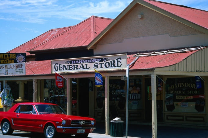General store in historic Hahndorf, the oldest surviving German settlement in Australia - Adelaide Hills....South Australia