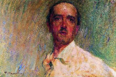 Plinio Nomellini (Italian, 1866 – 1943) Self-Portrait