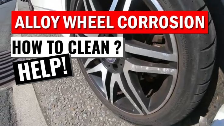 Alloy wheel corrosion mercedes c350 how to clean