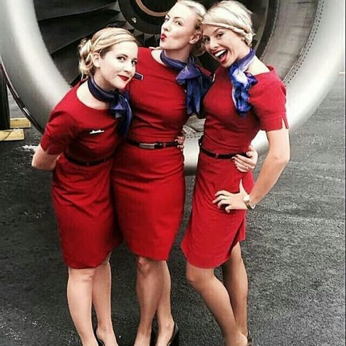 Airline hostess porn