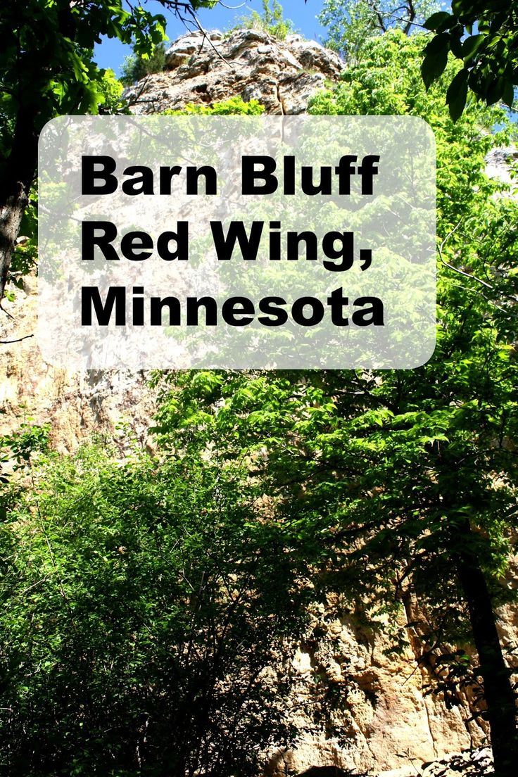 Hiking Barn Bluff in Red Wing, Minnesota