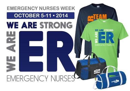 October 5-11, 2014 Emergency Nurses Week Gifts and Promotional Items