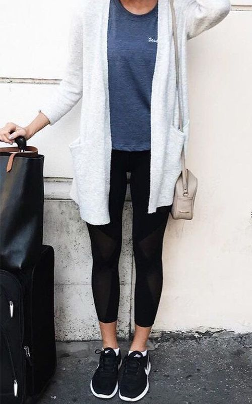 Want to stay warm and comfortable on the plane, but still look cool AF once you arrive at the airport? Pin these looks, stat.