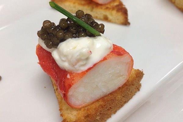King Crab and Caviar  // more: http://bestofdining.net/cities/miami-blog/