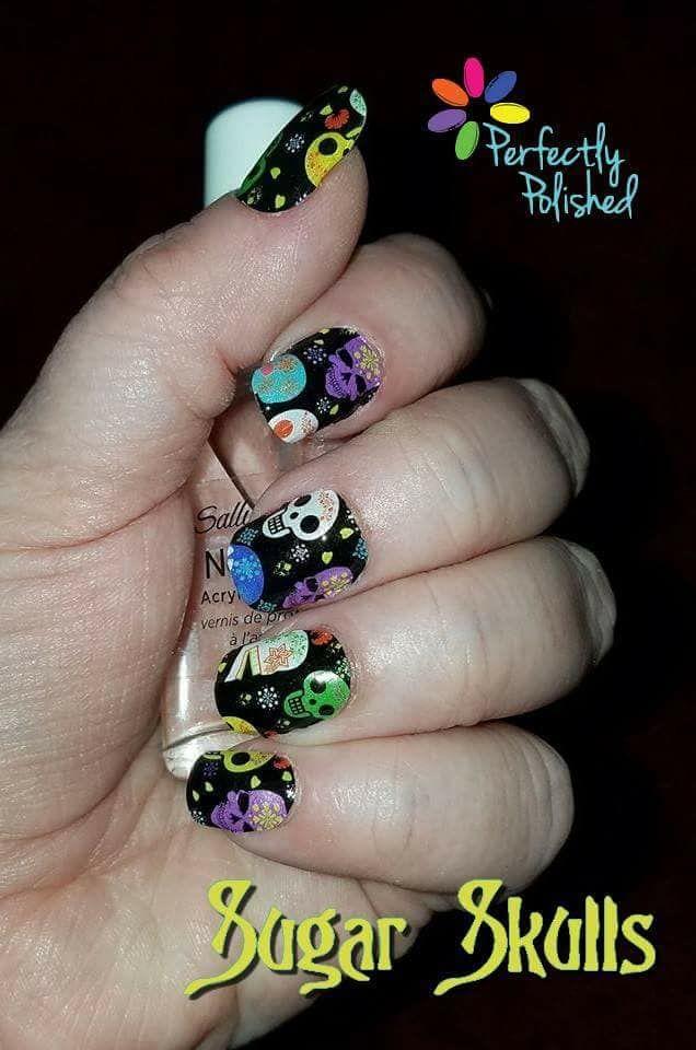 Sugar Skulls | Perfectly Polished Nails | Liquid nails, Nail polish ...